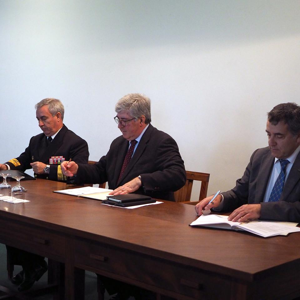 New cooperation protocol between the Portuguese Navy and LSTS